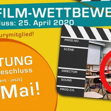 Achtung: TRICKFILM-WETTBEWERB- Einsendeschluss verlängert auf den 10. Mai